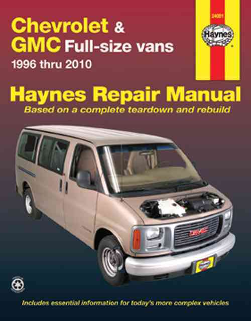 Chevrolet & GMC Full-Size Vans By Haynes, John